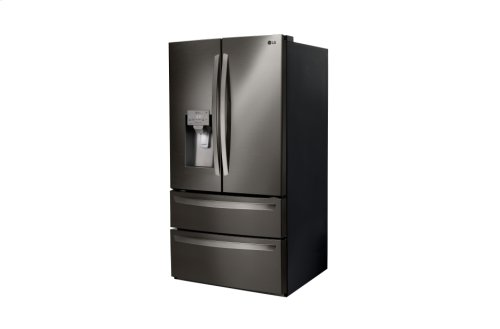 LG Black Stainless Steel Series 28 cu.ft. Capacity 4-Door French Door Refrigerator