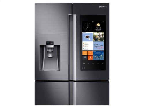 22 cu. ft. Counter Depth 4-Door Flex Refrigerator with Family Hub