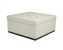 Noah Storage Ottoman - Cream