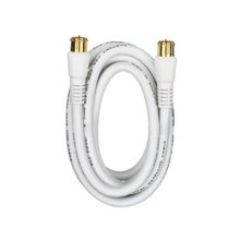 RCA 6 Ft Digital RG6 Coaxial Cable - White