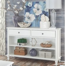 Console Table Beach White