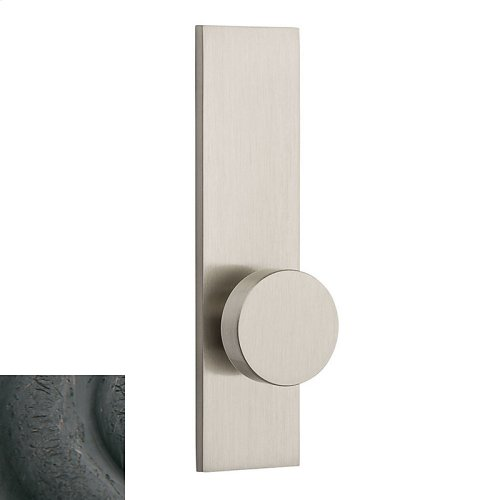 Distressed Oil-Rubbed Bronze Contemporary K010 Knob Screen Door