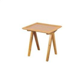 Barringer Pecan Side Table