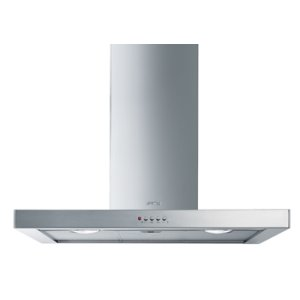 "Smeg90 CM (approx. 36""), Ventilation Hood, Stainless Steel"