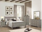 5PC Louis Philip Grey Bedroom Suite Product Image
