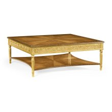 Louis XIV Style Square Coffee Table