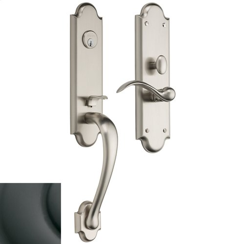 Oil-Rubbed Bronze Boulder 3/4 Escutcheon Trim