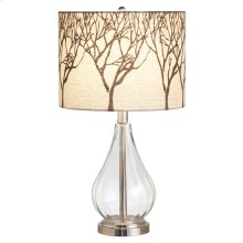 Table Lamp with Tree Shade. 60W Max.