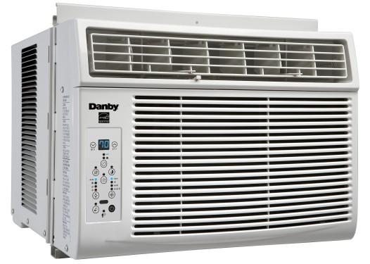 Danby 6000 BTU Window Air Conditioner  WHITE