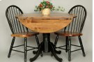 "#286 42"" Drop Leaf Pedestal Table 42""rx30.5""h Product Image"
