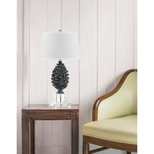 150W Pinecone Resin/Crystal Lamp