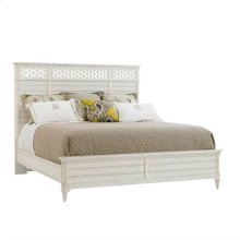 Cypress Grove-Wood Panel Bed-King in Parchment