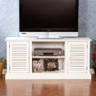 Antebellum Media Stand - Antique White Product Image