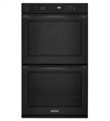 30-Inch Convection Double Wall Oven, Architect® Series II - Black