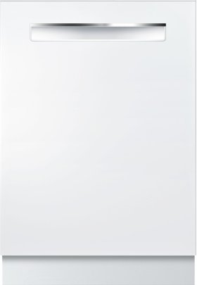 "24"" Pocket Handle Dishwasher 500 Series- White SHP65TL2UC"