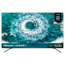 "65"" class H8 series - Hisense 2019 Model 65"" class H8F (64.5"" diag.) 4K ULED Android Smart TV"