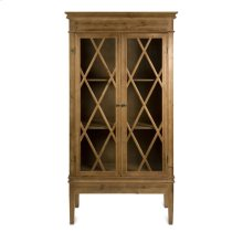 Malone Glass Front Cabinet