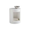 Beacon End Table - White