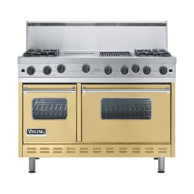 "Golden Mist 48"" Open Burner Range - VGIC (48"" wide, four burners 12"" wide griddle/simmer plate 12"" wide char-grill)"