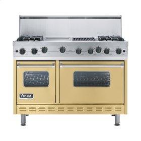 """Golden Mist 48"""" Open Burner Range - VGIC (48"""" wide, four burners 12"""" wide griddle/simmer plate 12"""" wide char-grill)"""