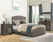 Kerstein King Bed Set - Orly Gray