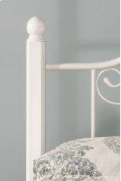 Ruby Wood Post Headboard Kit (2) - Textured White
