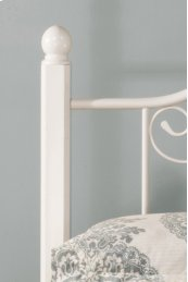 Ruby Wood Post Headboard Kit (2) - Textured White