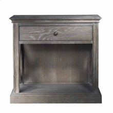 French Casement Accent Table Grey