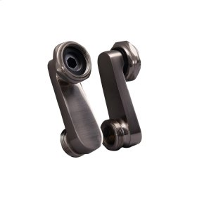 Swivel Arm Connectors for Deck Mount Faucet - Polished Chrome