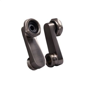 Swivel Arm Connectors for Deck Mount Faucet - Brushed Nickel Product Image