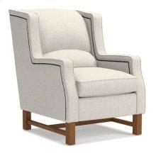 Cosmopolitan Premier Stationary Occasional Chair w/ Platinum Nail Head Trim