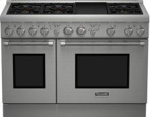 48 inch Professional Series Pro Harmony Standard Depth All Gas Range PRG486GDH