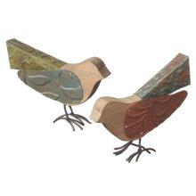 Mixed Material Bird (2 asstd)