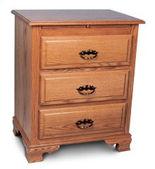 Classic Deluxe Nightstand with Drawers