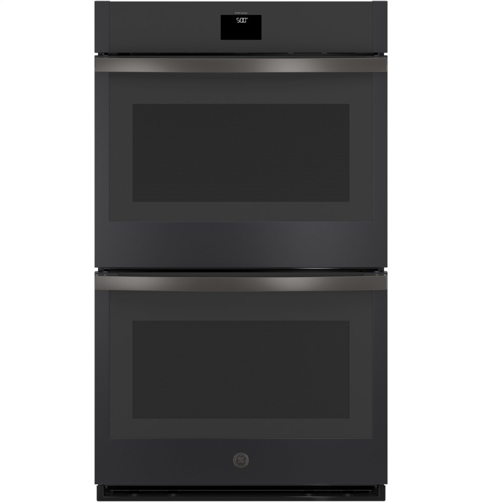 """GE(R) 30"""" Built-In Convection Double Wall Oven  BLACK SLATE"""