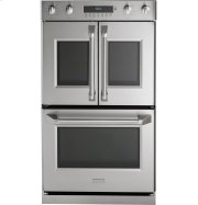 "Monogram 30"" Professional French-Door Electronic Convection Double Wall Oven Product Image"