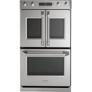 """Monogram 30"""" Professional French-Door Electronic Convection Double Wall Oven Product Image"""