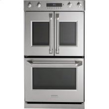 """Monogram 30"""" Professional French-Door Electronic Convection Double Wall Oven"""