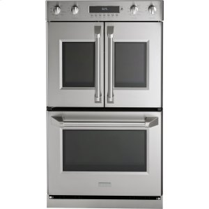 "MonogramMonogram 30"" Professional French-Door Electronic Convection Double Wall Oven"