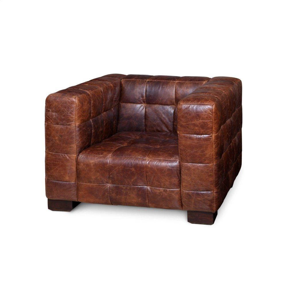 Cassini Club Chair, Brown
