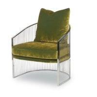 Ruffalo Metal Barrel Chair Product Image