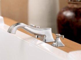 Antique Nickel Roman Tub Faucet