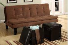 Adjustable Sofa + 2pcs Ottomans