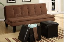 Adjustable Sofa + 2pcs Ottomans