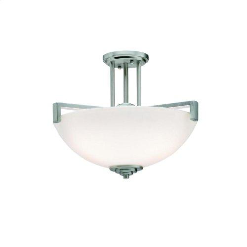 Eileen Collection Eileen 3 light Pendant/Semi Flush NI