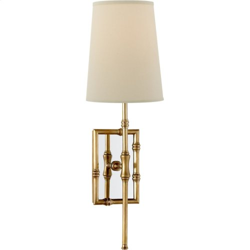 Visual Comfort S2177HAB-PL Studio Grenol 1 Light 5 inch Hand-Rubbed Antique Brass Wall Sconce Wall Light
