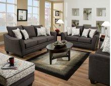 3850 - Flannel Seal Sofa