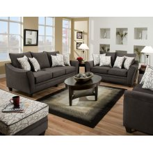3850 - Flannel Seal Sofa