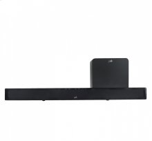 Sound Bar Home Theater System with Bluetooth wireless technology.