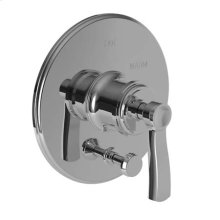 Forever Brass - PVD Balanced Pressure Tub & Shower Diverter Plate with Handle. Less Showerhead, arm and flange.